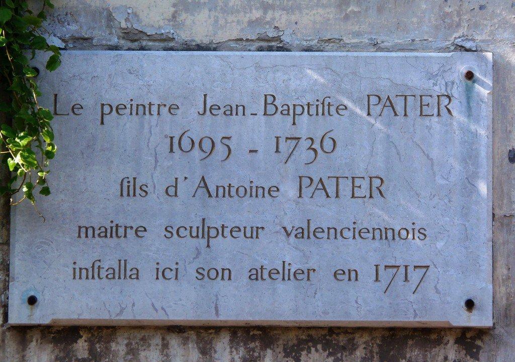 jean-baptiste-pater.17-rue-des-maillets-valenciennes St Amand les eaux dans sculpture