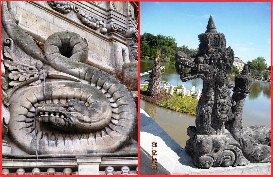 serpent-dragon dans Tourisme