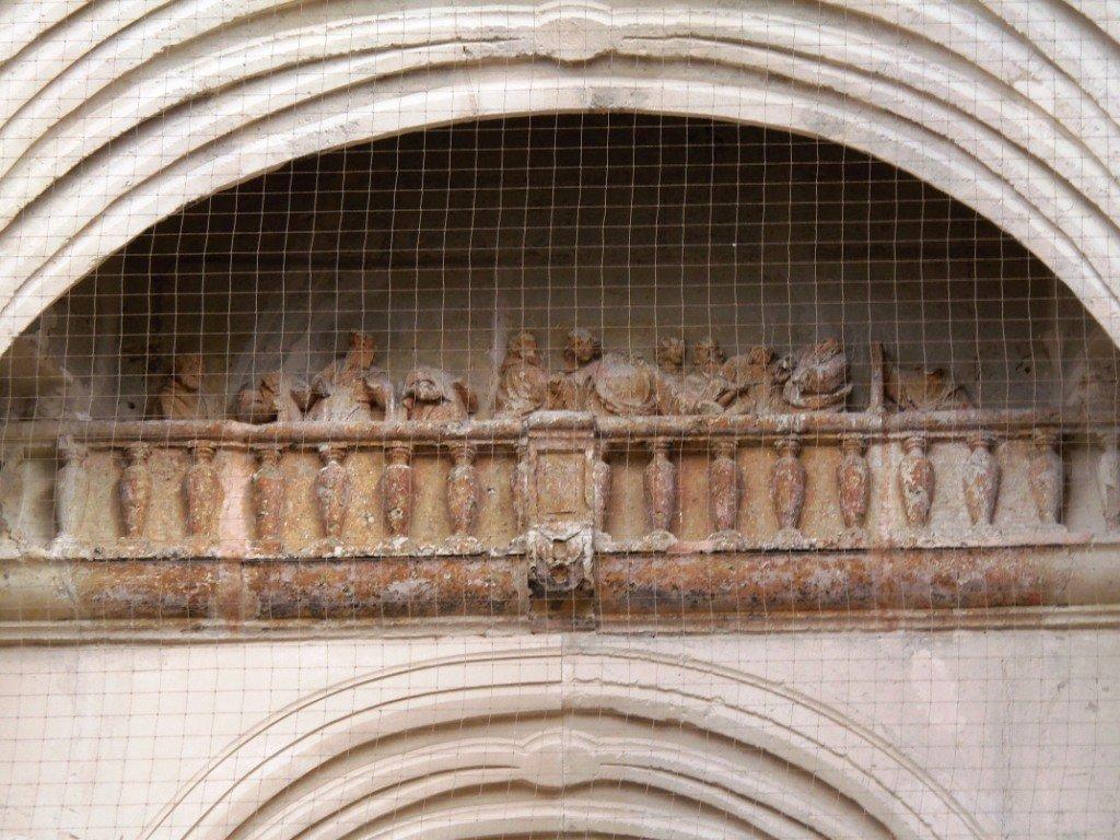 tour-abbatiale-st-amand_la-cene dans Histoire