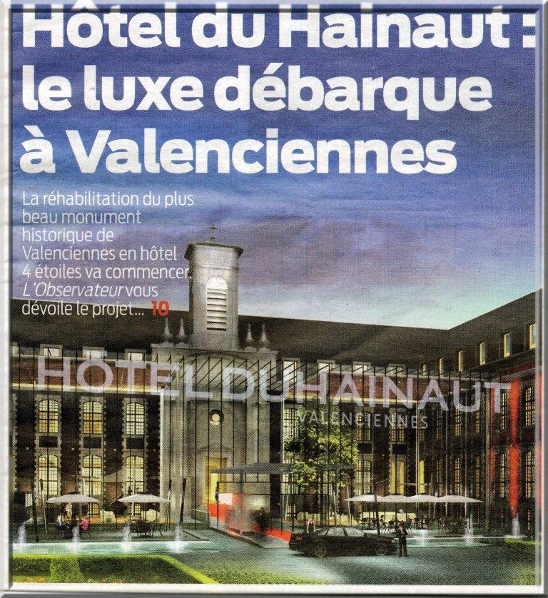 Hotel du Hainaut_Source Observateur du Valenciennois