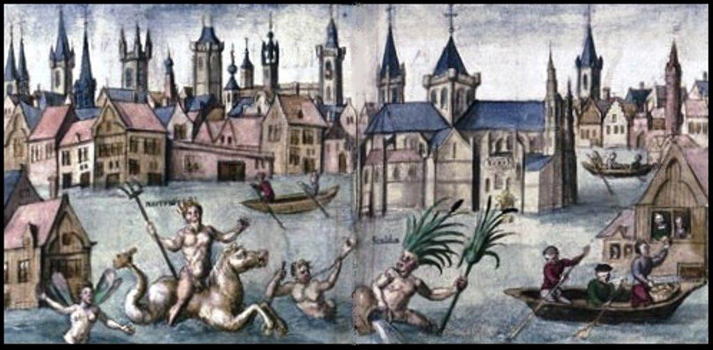 1532- Inondation de Valenciennes .