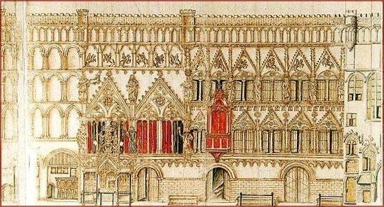 Maison échevinale de Valenciennes 1650