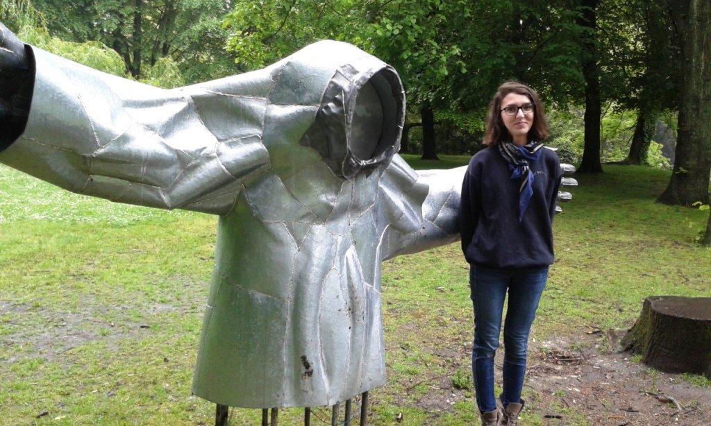 Claire Mehaddi et son géant de fer