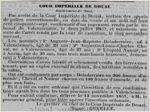 cour impériale de Douai